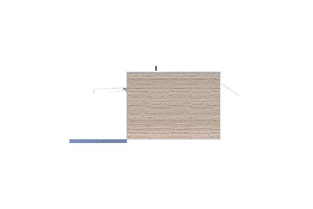 Zobacz powiększenie elewacji bocznej lewej - projekt Praia