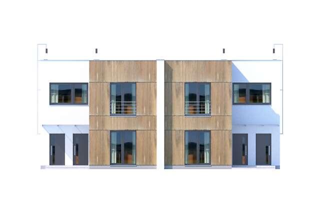 Zobacz powiększenie elewacji frontowej - projekt Springfield III