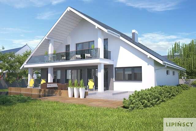 Zobacz powiększenie wizualizacji ogrodowej - projekt Lagos IV