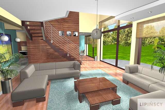 Zobacz powiększenie wizualizacji wnętrza - projekt Montreal