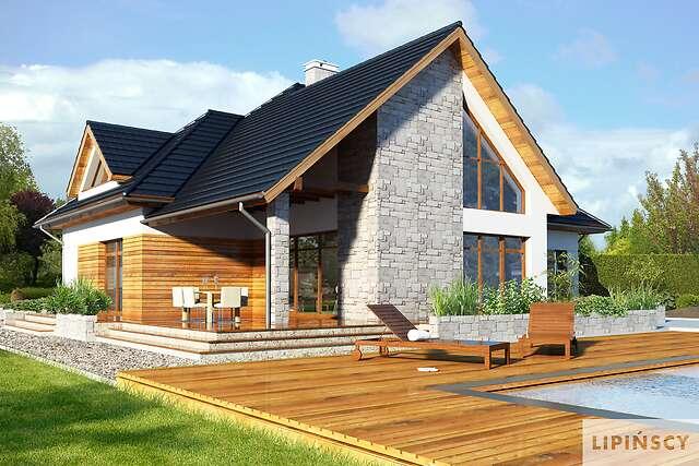 Zobacz powiększenie wizualizacji ogrodowej - projekt Avalon VI