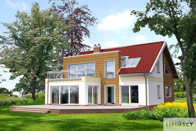 Zobacz powiększenie wizualizacji ogrodowej - projekt Essen III