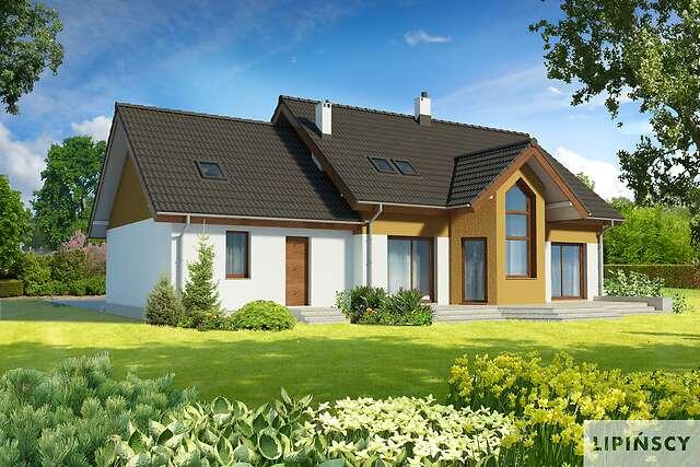 Zobacz powiększenie wizualizacji ogrodowej - projekt Jena II