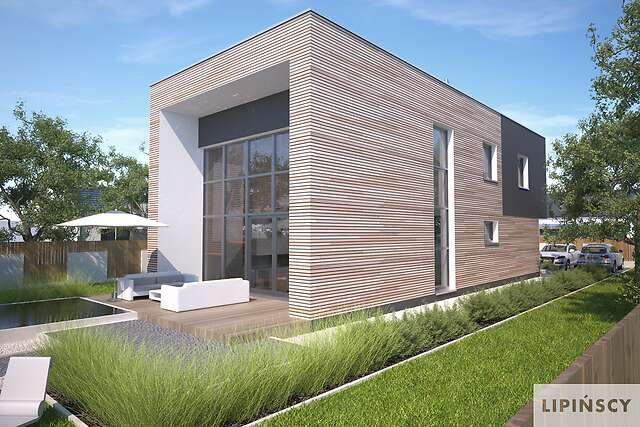Zobacz powiększenie wizualizacji ogrodowej - projekt Delft III
