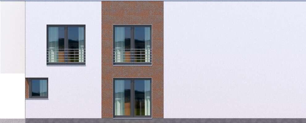 Elewacja boczna prawa - projekt Delft IV