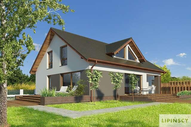 Zobacz powiększenie wizualizacji ogrodowej - projekt Rodez III