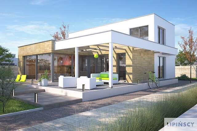 Zobacz powiększenie wizualizacji ogrodowej - projekt Concord