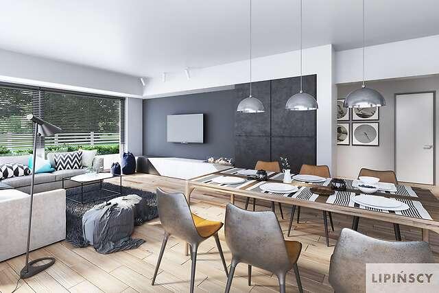 Zobacz powiększenie wizualizacji wnętrza - projekt Carrara III