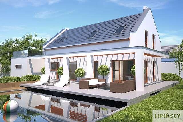 Zobacz powiększenie wizualizacji ogrodowej - projekt Bergamo IV