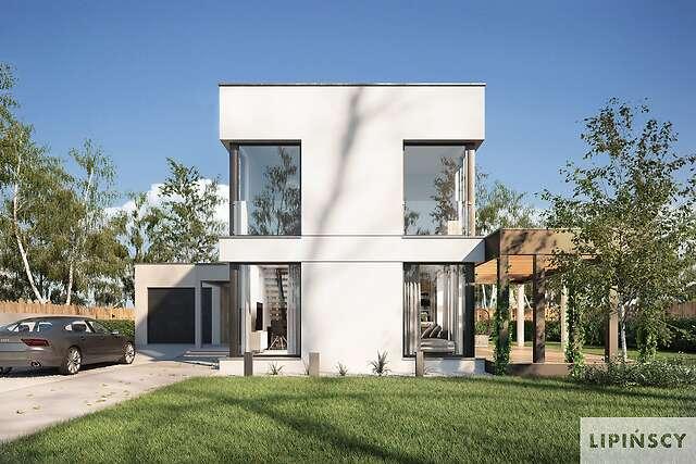 Projekty Domow Z Antresola I Wysokim Sufitem Lipinscy Domy