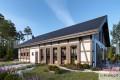 Zobacz powiększenie wizualizacji ogrodowej - projekt Budynek usługowy Orzeł II