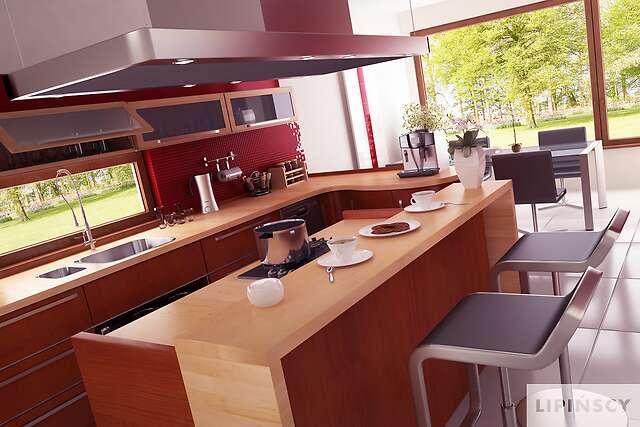 Zobacz powiększenie wizualizacji wnętrza - projekt Lipińscy Dom Pasywny 2