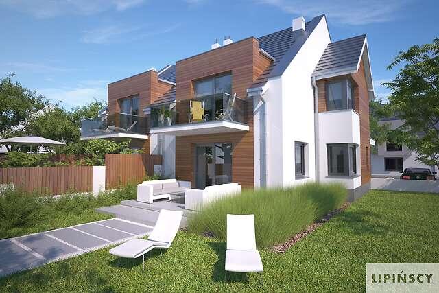 Zobacz powiększenie wizualizacji ogrodowej - projekt Zurych III