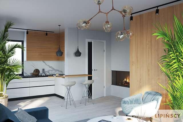 Zobacz powiększenie wizualizacji wnętrza - projekt Oslo