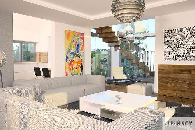 Zobacz powiększenie wizualizacji wnętrza - projekt Lagos II