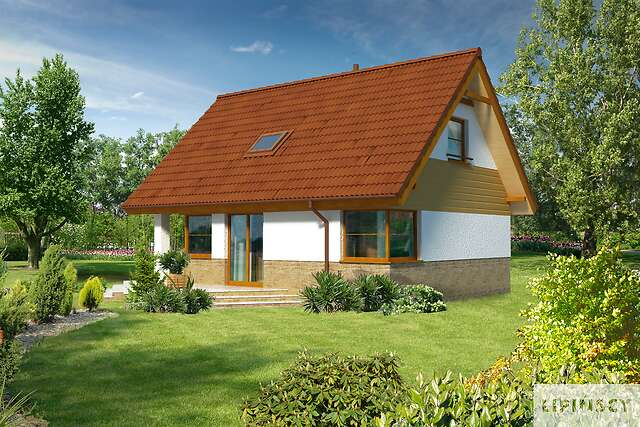 Zobacz powiększenie wizualizacji ogrodowej - projekt Arras