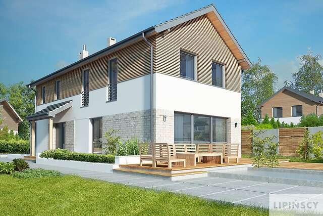 Zobacz powiększenie wizualizacji ogrodowej - projekt Brunico